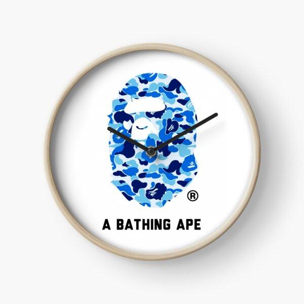 A Bathing Ape Blue Clock