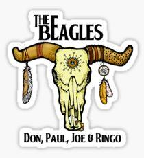 THE BEAGLES!! Don, Paul, Joe & Ringo! Sticker