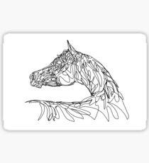 Doodle Horse - Arabian Sticker
