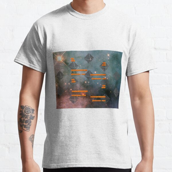 We Are Consciousness - Plutoneon Classic T-Shirt