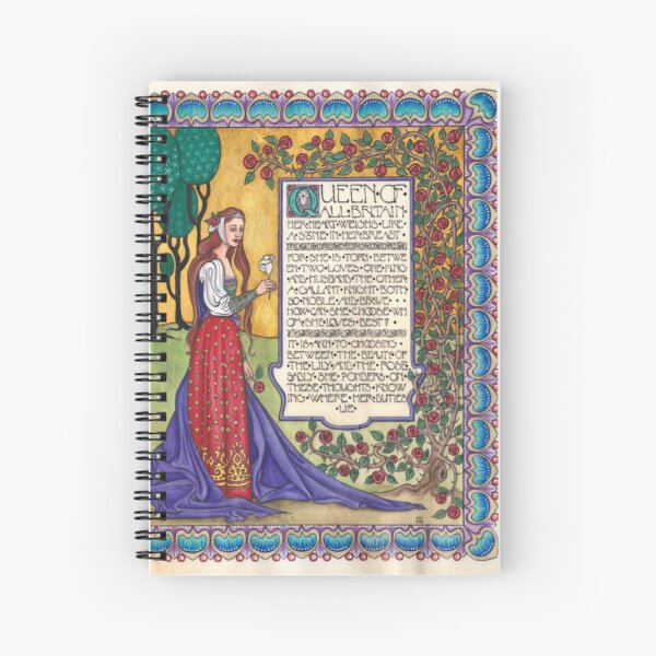 Guinevere Notebook Spiral Notebook