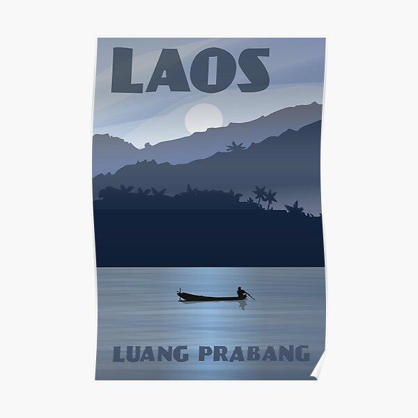 Laos Luang Prabang Poster Poster