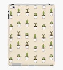 I love cacti illustration. Cactus background  iPad Case/Skin
