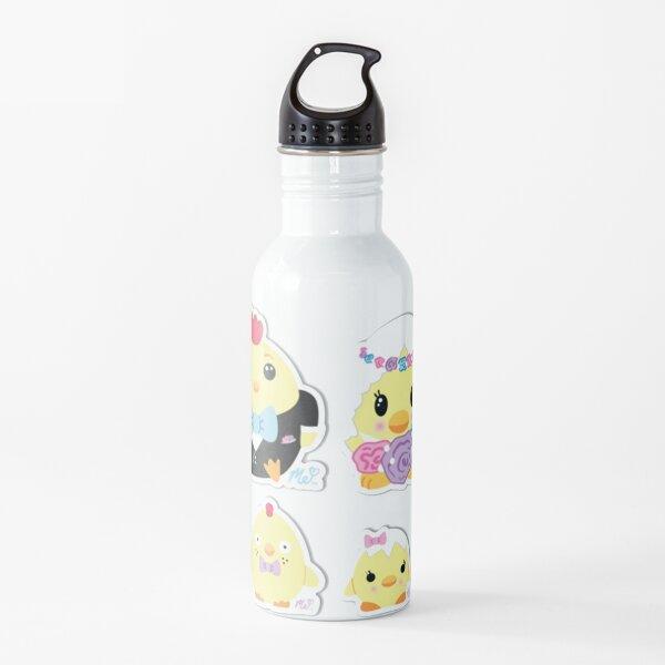 Moriah Elizabeth chicken family sticker pack Water Bottle