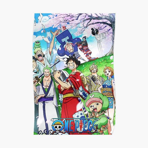 Chapeaux de paille WANO - One Piece Poster