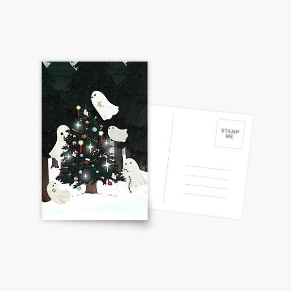 Christmas Spirits Postcard