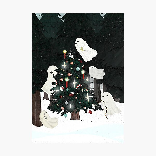 Christmas Spirits Photographic Print