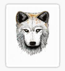 One Pack Wolf Sticker
