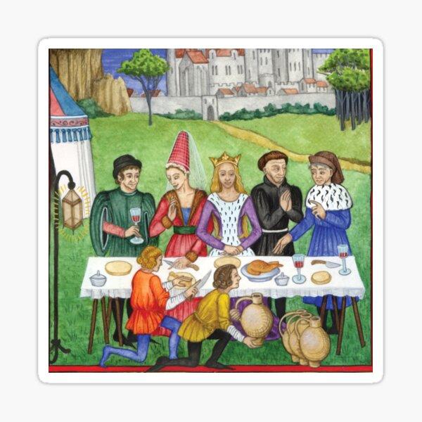 Medieval Feast Illumination Sticker