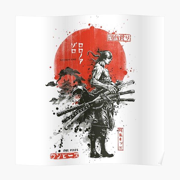 Zoro (Wano kuni samurai) Poster