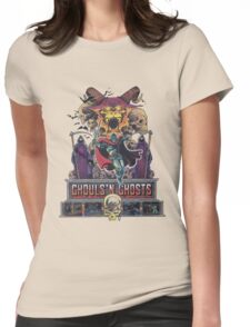 GHOULS'N GHOSTS Womens Fitted T-Shirt
