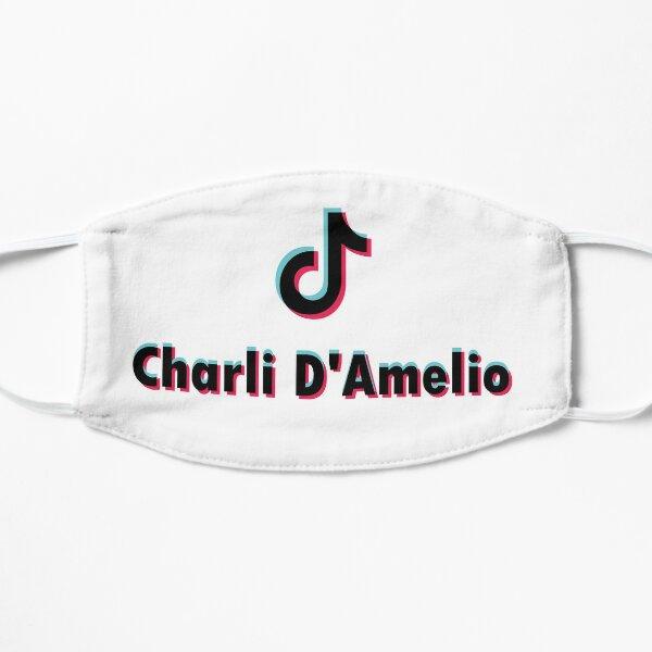 Charli Damelio TikTok Masque sans plis