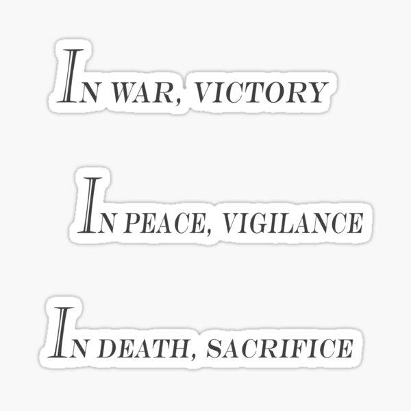Grey Warden Slogan Sticker