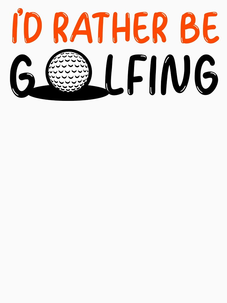I'd rather be golfing - golf by ds-4