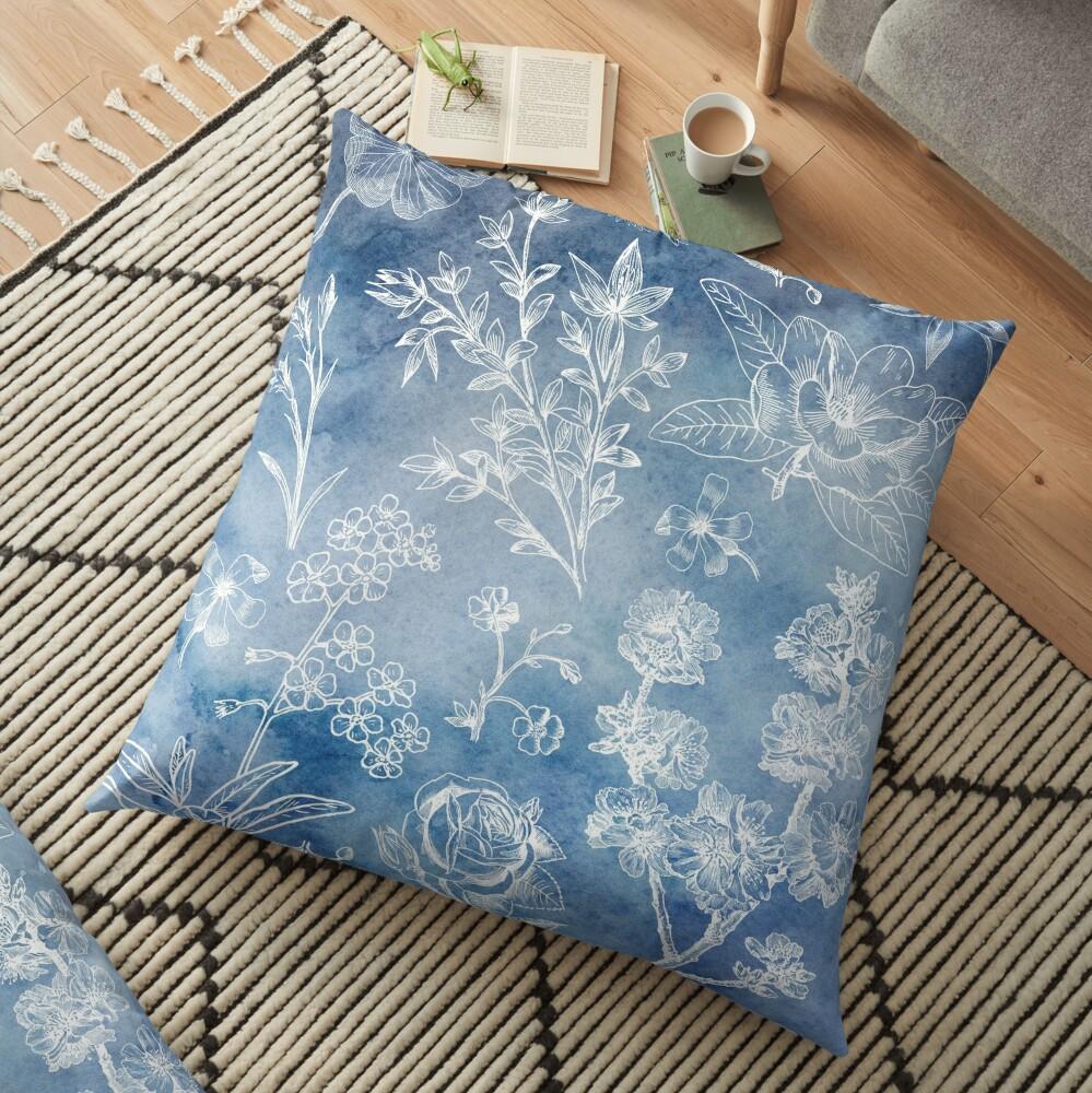 Watercolour Dreams Floor Pillow