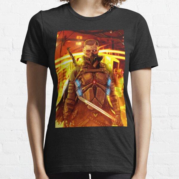 Warrior CyberPunk  Essential T-Shirt
