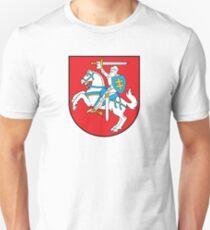 Lithuanian Coat of Arms Unisex T-Shirt
