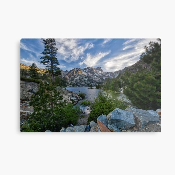 A view of the Buttes Metal Print