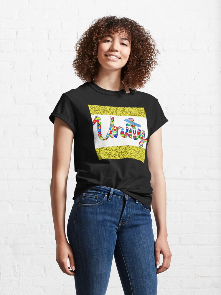 Alternate view of Unity-Pearl S. Buck Collection Classic T-Shirt