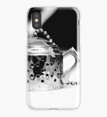 Tea infuser 2 - BW iPhone Case/Skin
