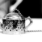Tea infuser 2 - BW by Mark Batten-O'Donohoe