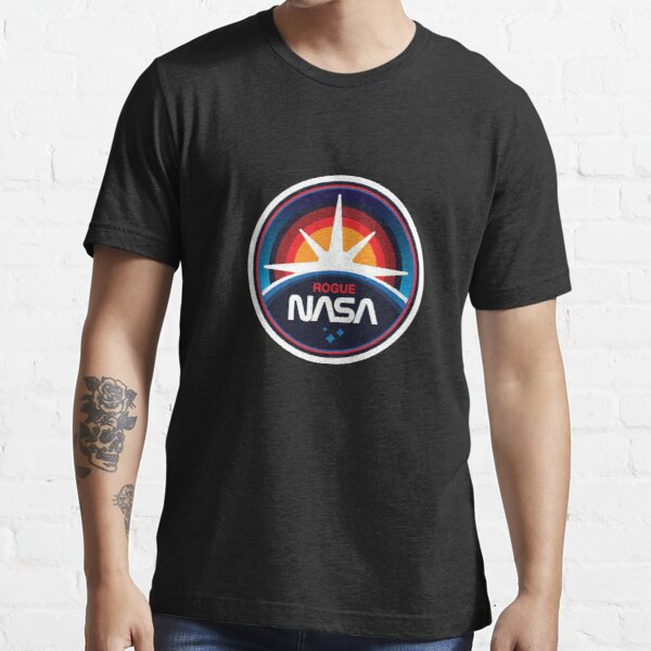 BEST TO BUY - Rogue Nasa Logo Essential T-Shirt