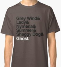 The Direwolves Classic T-Shirt