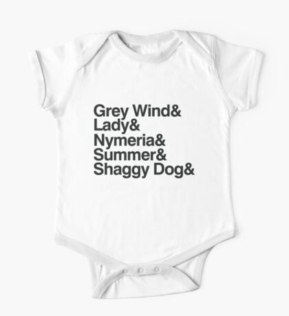 The Direwolves Kids Clothes