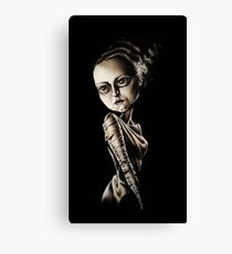 Low Brow Bride of Frankenstein Canvas Print