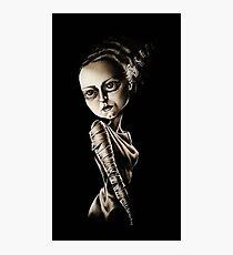 Low Brow Bride of Frankenstein Photographic Print