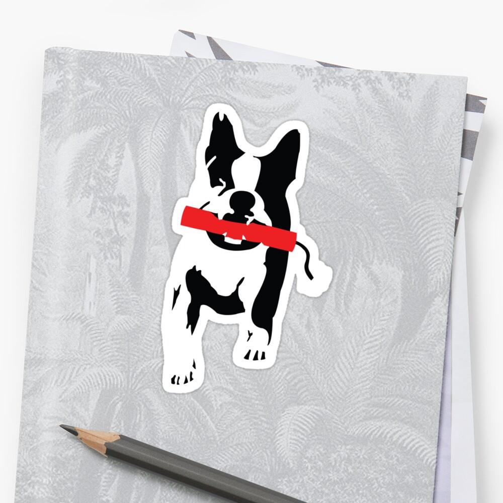 Bomb Dog by MangaKid