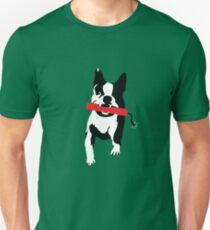 Camiseta ajustada Perro bomba