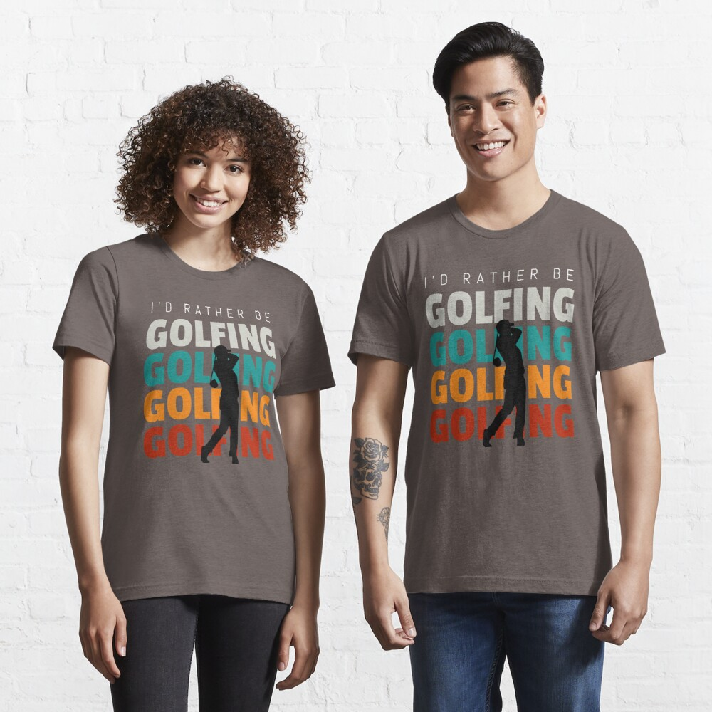 Id rather be golfing vintage Essential T-Shirt