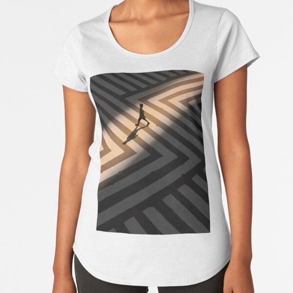 Golden Hour in the City Premium Scoop T-Shirt