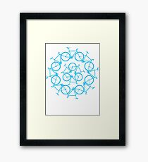 Re-Bicycling Framed Print