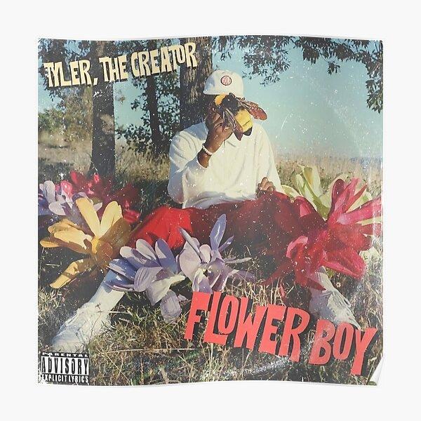 Flower Tyler Boy Poster