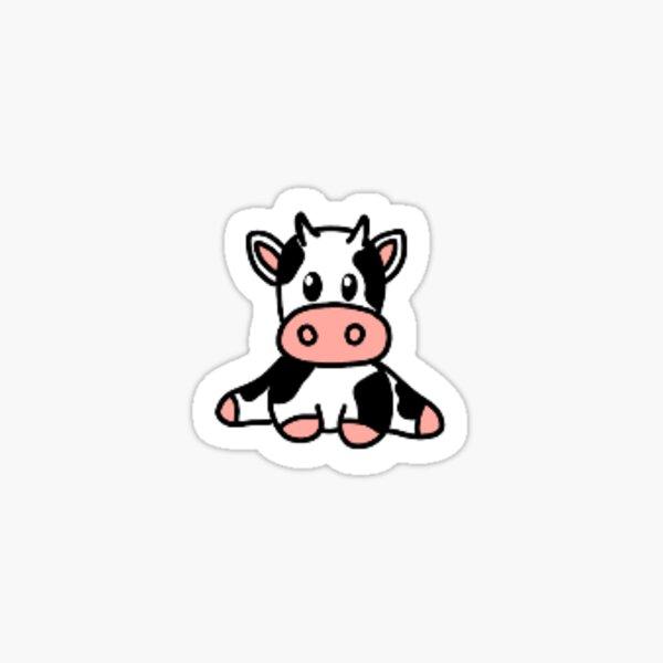 Mini vache Sticker