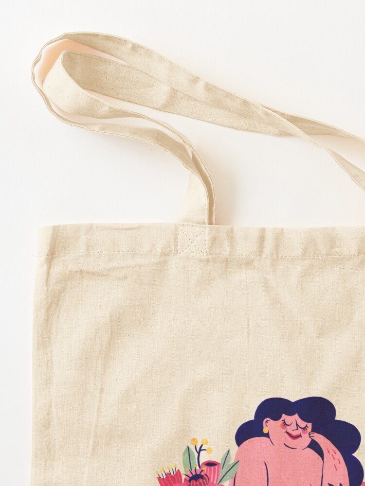 Alternate view of Among the flowers Tote Bag