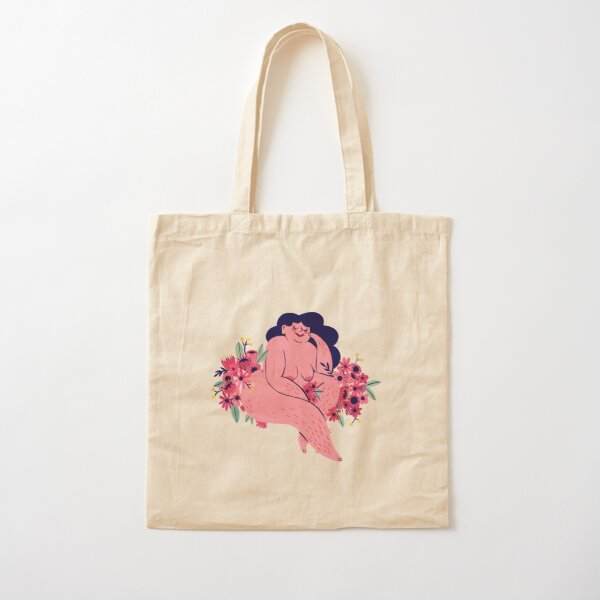 Among the flowers Cotton Tote Bag