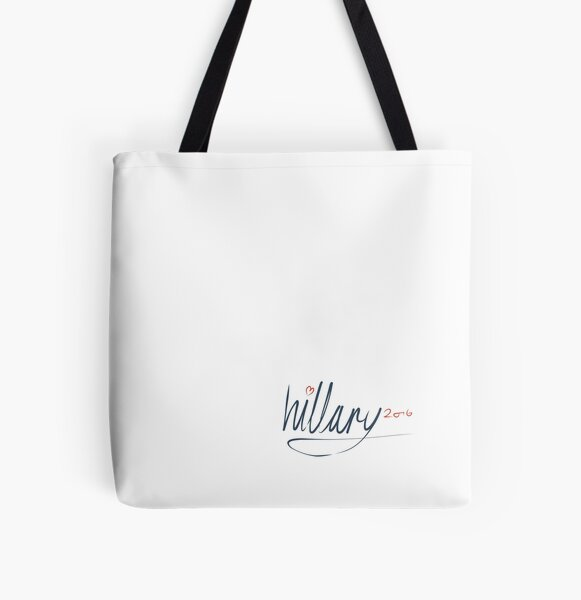 Hillary Signature 2016 All Over Print Tote Bag
