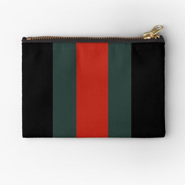 Gucci Stripe Zipper Pouch