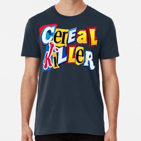 Cereal Killer Ransom Note Premium T-Shirt