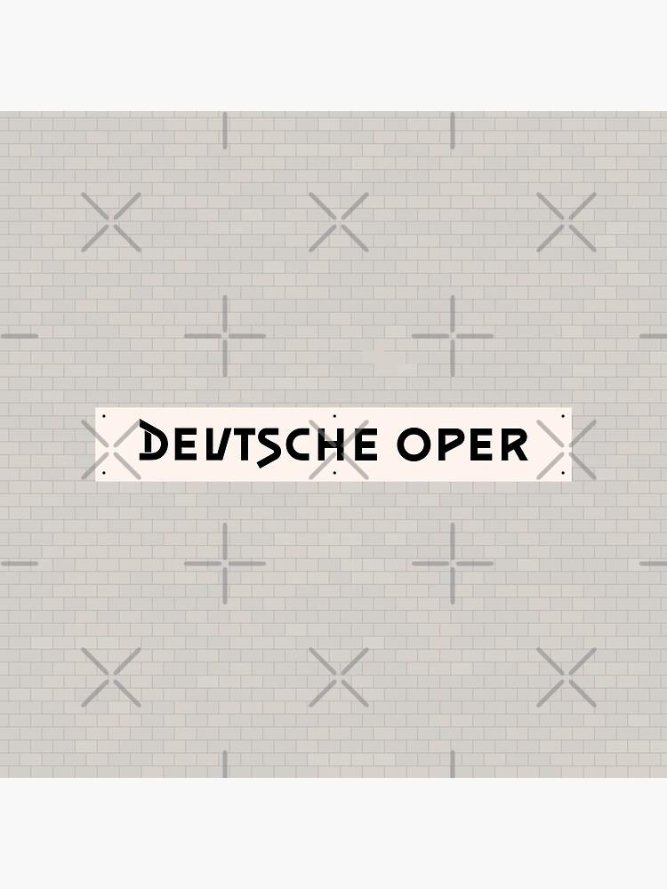 Deutsche Oper Station Tiles (Berlin) by in-transit