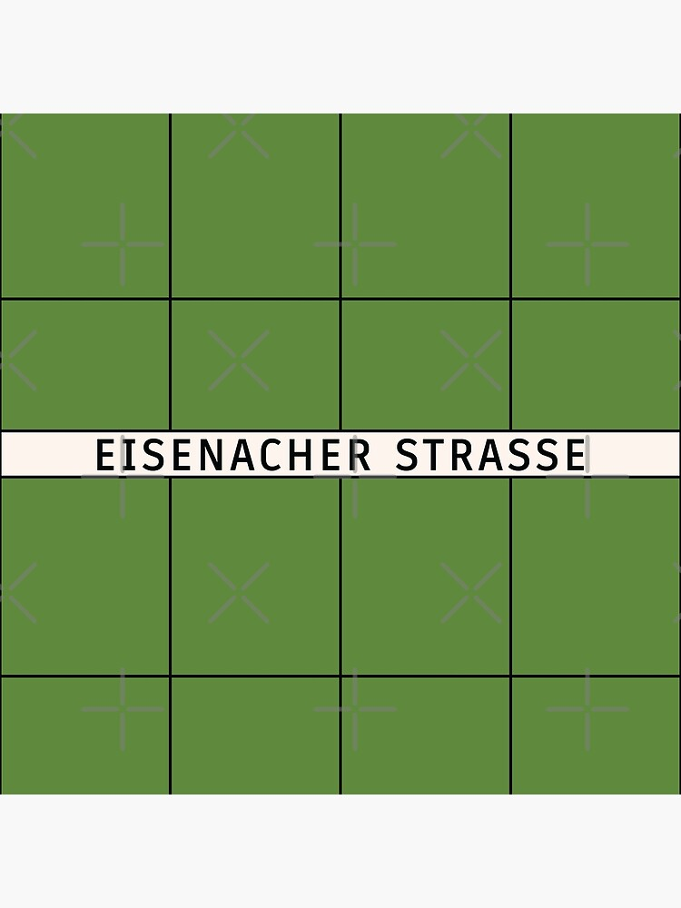 Eisenacher Straße Station Tiles (Berlin) by in-transit