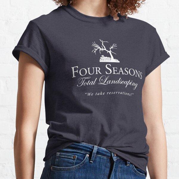 Paisajismo total Four Seasons Camiseta clásica