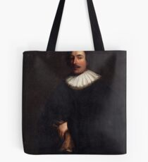 PORTRAIT OF A MAN. Tote Bag