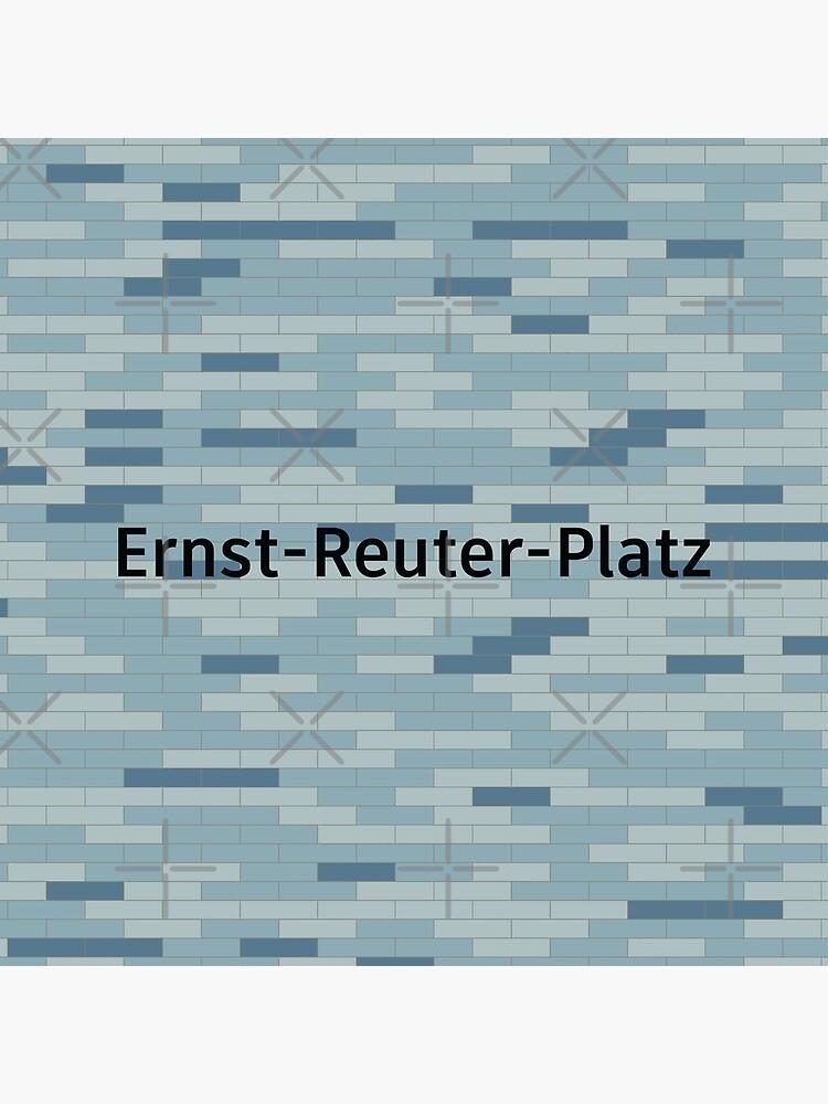 Ernst-Reuter-Platz Station Tiles (Berlin) by in-transit