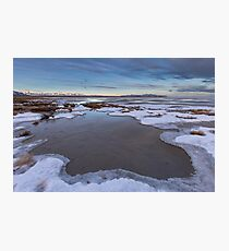 The Great Salt Lake in Utah Sunrise Photographic Print