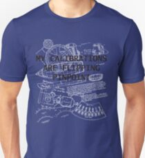 My Calculations are Flipping Pinpoint T-Shirt