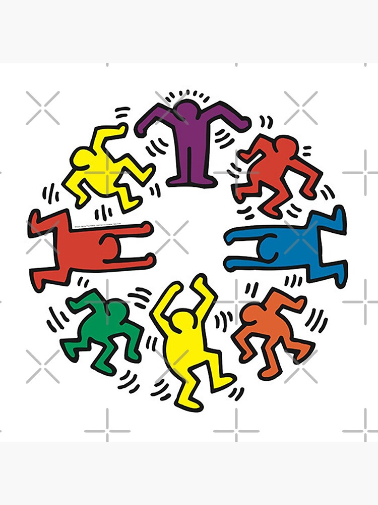 Keith haring by houseofneedit